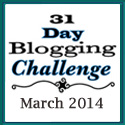 Participant Badge for 31-Day Blogging Challenge