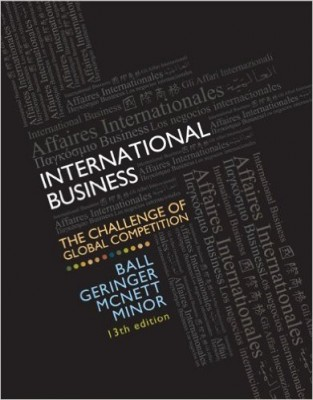 International Business: The Challenge of Global Competition